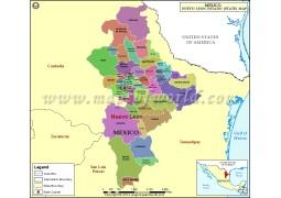 Nuevo Leon Map