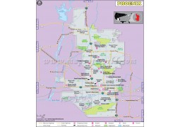 Phoenix City Map
