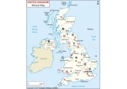 UK Minerals Map