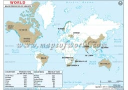 World Ilmenite Producing Countries