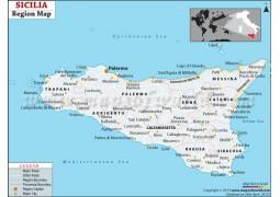 Silicia Region Map - Digital File