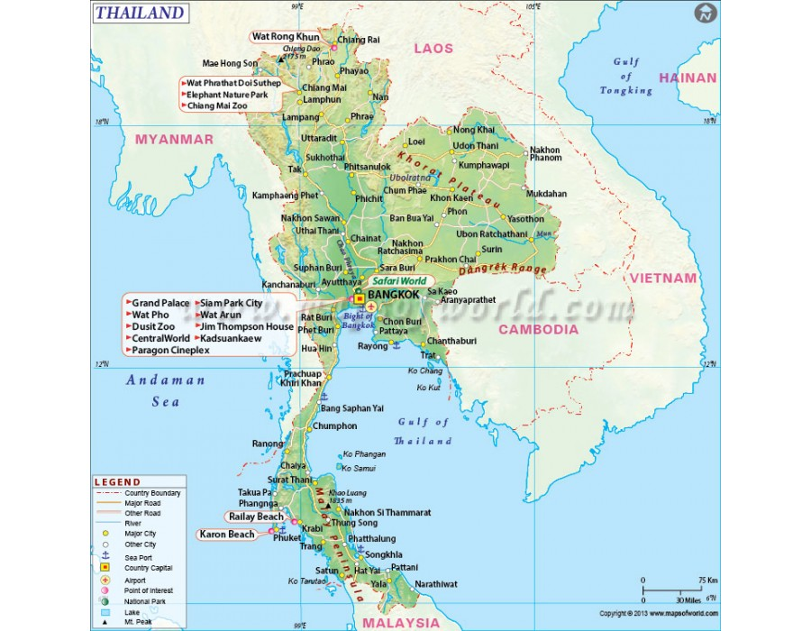 an overview of the kingdom of thailand