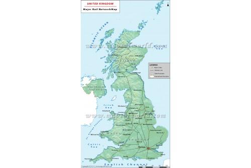 UK Rail Map