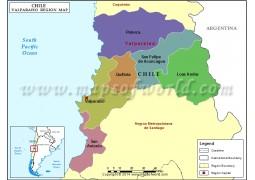 Valparaiso Map - Digital File