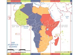 Africa Time Zone Spanish