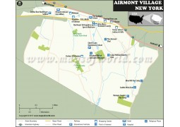 Airmont City Map, New York