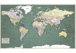 World Map Retro (2nd Edition)