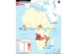 African Countries with Highest Death Rate