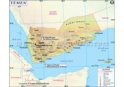 Yemen Map - Digital File